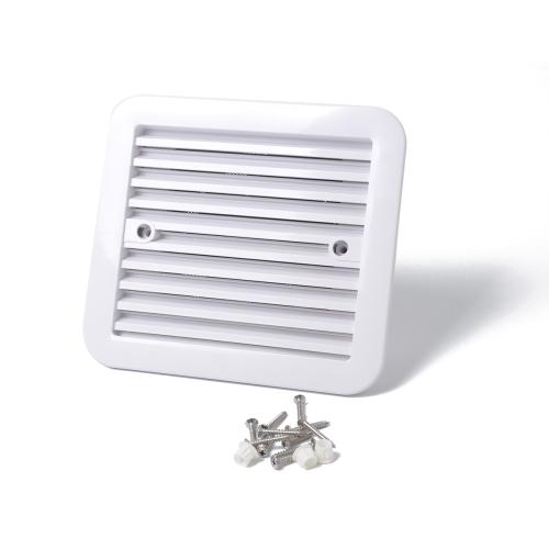 2 pcs 12v White Vent With Fan Rv Trailer Caravan Side Air Ventilation