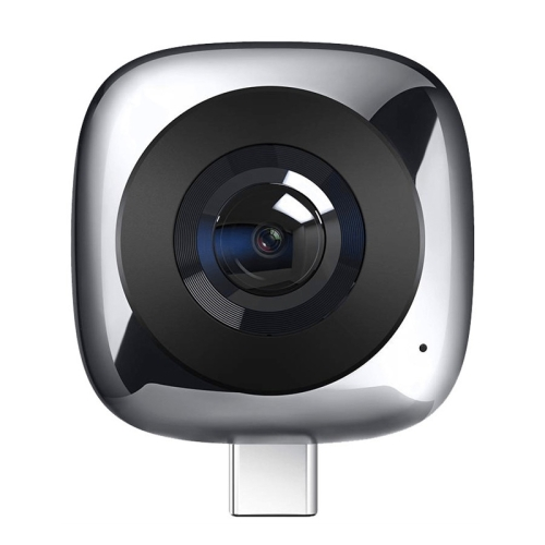 Huawei CV60 Panoramic Camera with Dual 13 Megapixel Lens, Support 360 Degree Photo / Video, Asteroid / Crystal Ball / Fish Eye Effect, Self-timer, Social Sharing, Animation Production, VR Browsing(Grey)