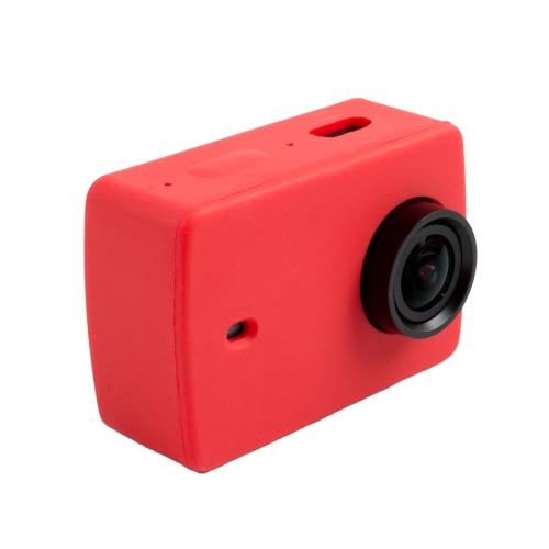 Buy For Xiaomi Xiaoyi Yi II Sport Action Camera Silicone Housing Protective Case Cover Shell, Red for $1.46 in SUNSKY store