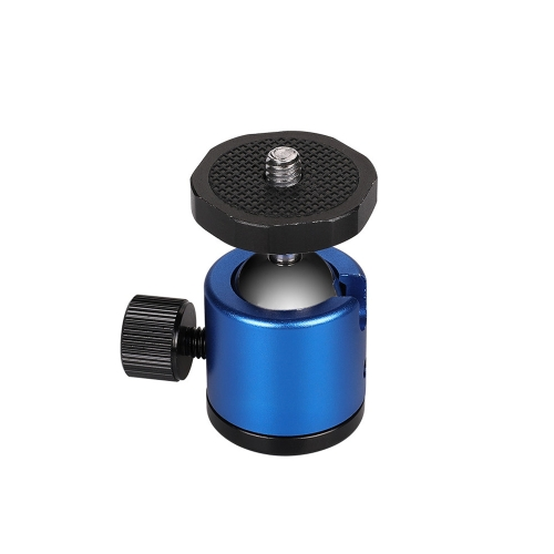 Mini 360 Degree Rotation Panoramic Metal Ball Head for DSLR & Digital Cameras (Blue)