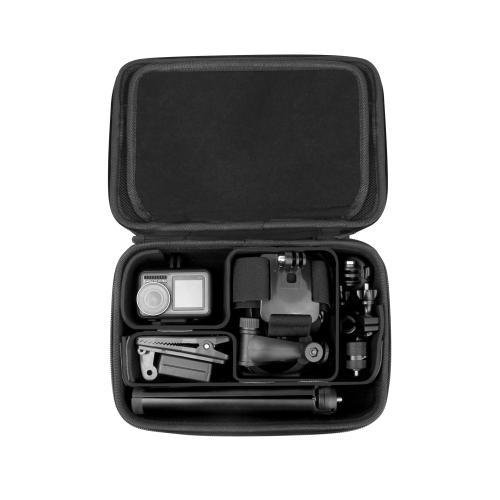 Sunnylife Universal DIY Shockproof Waterproof Portable Storage Box for DJI Osmo Action / Pocket , Size: 24.6cm x 17.1cm x 8.1cm