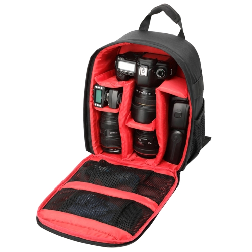 Buy INDEPMAN DL-B013 Portable Waterproof Scratch-proof Outdoor Sports Backpack Camera Bag Phone Tablet Bag for GoPro, SJCAM, Nikon, Canon, Xiaomi Xiaoyi YI, iPad, Apple, Samsung, Huawei, Size: 26.5 * 12.5 * 33 cm, Red for $12.23 in SUNSKY store