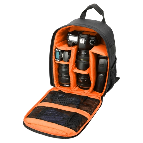 Buy DL-B027 Portable Waterproof Scratch-proof Outdoor Sports Backpack SLR Camera Bag Phone Bag for GoPro, SJCAM, Nikon, Canon, Xiaomi Xiaoyi YI, iPad, Apple, Samsung, Huawei, Size: 27.5 * 12.5 * 34 cm, Orange for $13.07 in SUNSKY store