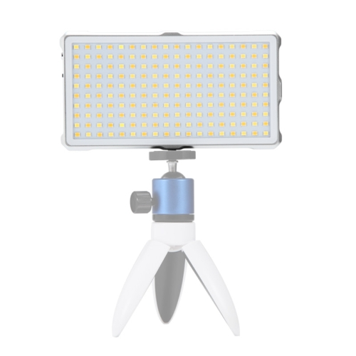 Durable CAOMING F18 Pocket 180 LEDs Professional Vlogging Photography Video /& Photo Studio Light with OLED Display for Canon//Nikon DSLR Cameras Color : White White