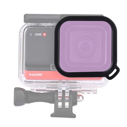 2PCS Para Insta 360 One R 4K Cam Tapa de Silicona Funda Cubierta Protector de Lente a prueba de polvo
