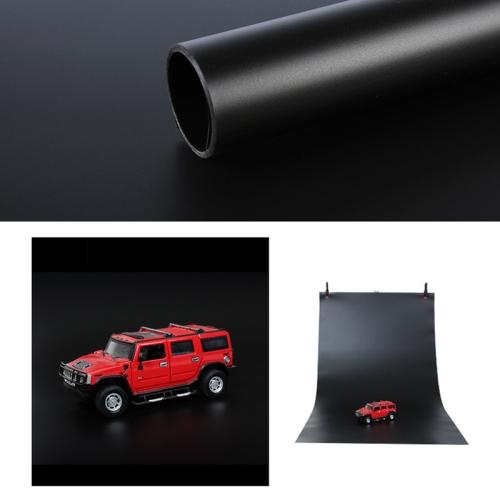 120x200cm PVC Paper Matte Photography Background(Black) фото