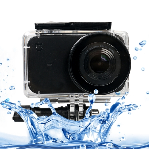 Buy Xiaomi Mijia Small Camera 45m Underwater Waterproof Housing Diving Protective Case with Buckle Basic Mount & Screw for $6.60 in SUNSKY store
