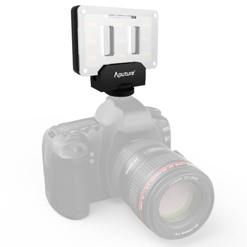Buy Aputure Amaran AL-M9 Mini TLCI/CRI 95+ LED Video Light on-Camera Photography Lighting Fill Light for Canon, Nikon, Sony, DSLR Camera for $41.25 in SUNSKY store