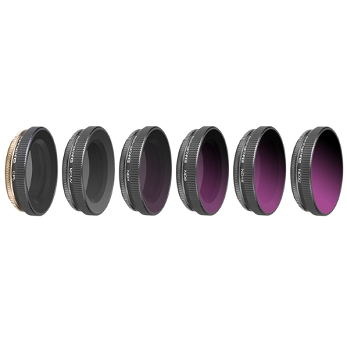 5 in 1 HD Slim ND8 /& ND16 /& ND32 /& CPL /& MCUV Lens Filter for DJI OSMO Pocket Durable
