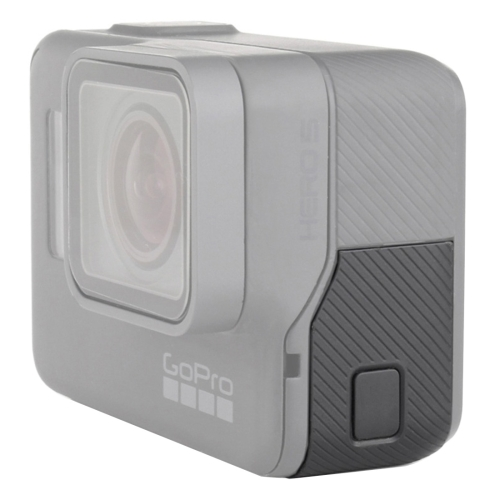 For GoPro HERO5 Side Interface Door Cover Repair Part(Black)