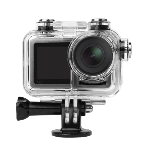 Sunnylife OA-Q9227 60m Underwater Waterproof Housing Diving Case for DJI Osmo Action, with Buckle Basic Mount & Screw