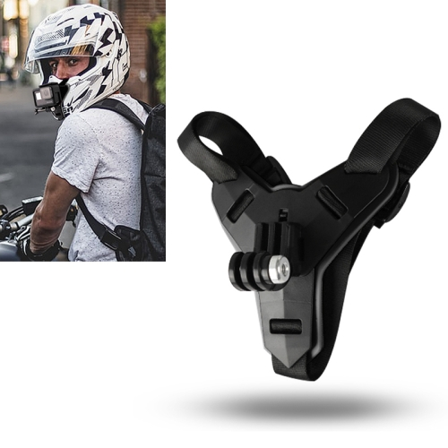 Helmet Belt Mount for GoPro HERO8 Black /7 /6 /5 /5 Session /4 Session /4 /3+ /3 /2 /1, Xiaoyi and Other Action Cameras (Black) фото