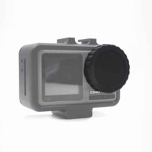 STARTRC Dedicated Silicone Lens Cap for DJI OSMO Action(Black)