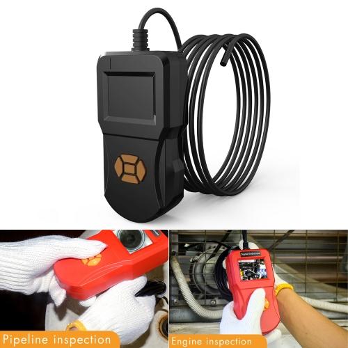 inskam127 IP67 HD Digital 2.4 inch Display Screen Handheld Endoscope Industrial Home Endoscopes, Lens Size: 8mm, Hard Cable Length: 3m (Black)