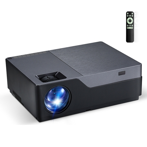 AUN M18 5.8 inch LCD Screen 5500 Lumens 1920x1080P Full HD Smart Projector with Remote Control, Support VGA / HDMI / SD Card / USB