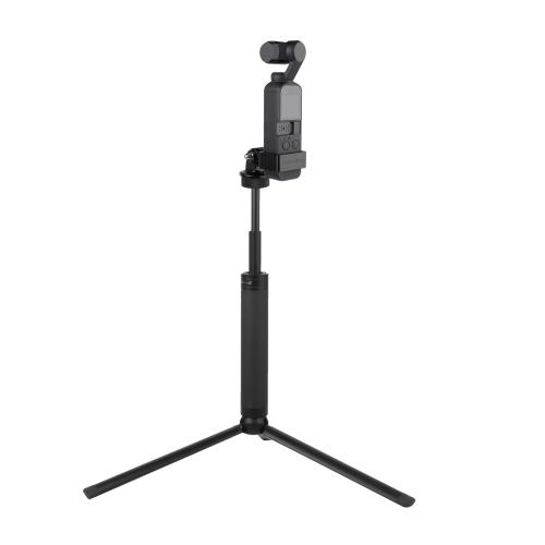 Sunnylife OP-Q9195 Metal Adapter + Tripod + Extending Rod for DJI OSMO Pocket