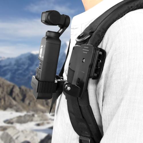 Sunnylife OP-Q9196 Metal Adapter + Bag Clip for DJI OSMO Pocket