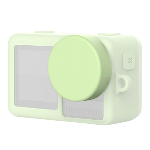 Color : Green Silicone Protective Lens Cover for DJI New Action Durable