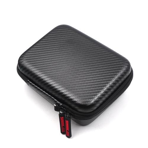 STARTRC Portable Shockproof Waterproof EVA+PU Storage Bag for DJI Osmo Action, Size: 18x15x6cm(Black)
