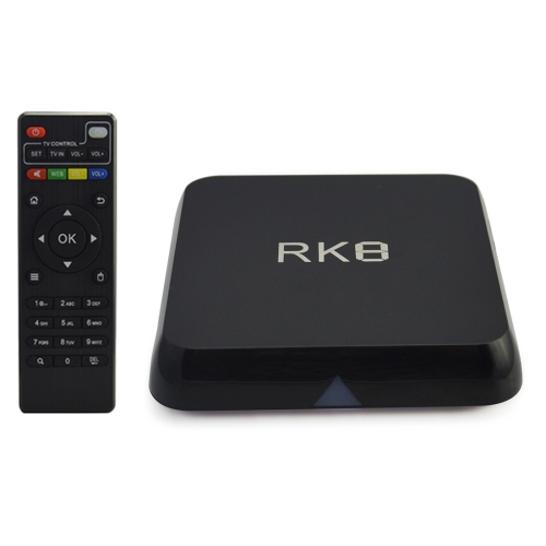 SUNSKY - RK8 1080P 4K HD Smart TV BOX with Remote Controller