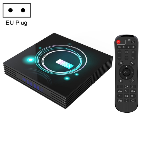 A95X F3 Slim 4K Smart TV BOX Android 9.0 Media Player wtih Remote Control, Quad-core Amlogic S905X3, RAM: 4GB, ROM: 64GB, EU Plug