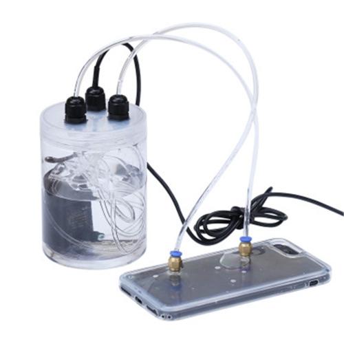 Radiator Water-Cooled Artigact TPU Soft Case for iPhone X / XS