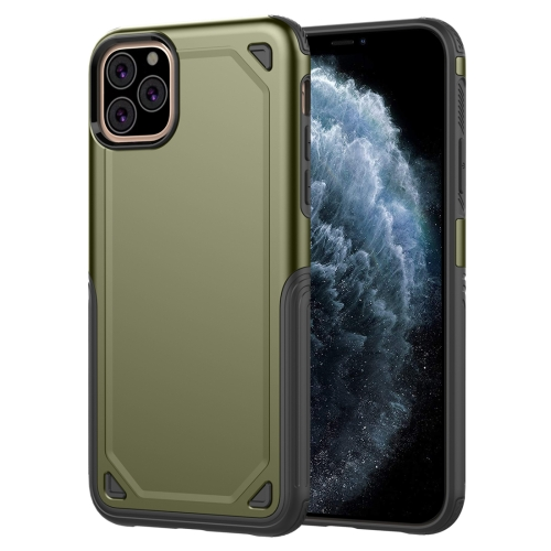 Shockproof Rugged Armor Protective Case for iPhone 11 Pro(Army Green)