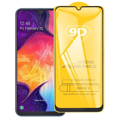 9D Full Glue Full Screen Tempered Glass Film For Galaxy A20e фото
