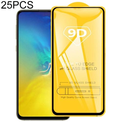 25 PCS 9D Full Glue Full Screen Tempered Glass Film For Galaxy S10e