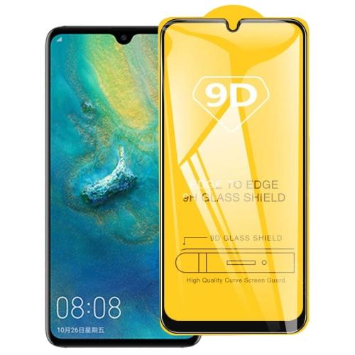 9D Full Glue Full Screen Tempered Glass Film For Huawei P30 Lite фото