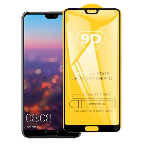 9D Full Glue Full Screen Tempered Glass Film For Huawei P20 Pro