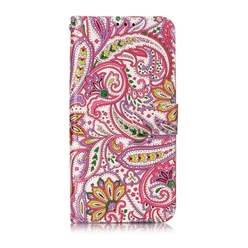 Oil Embossed Coloured Drawing Pattern Horizontal Flip PU Leather Case with Holder & Card Slots & Wallet & Photo Frame For Galaxy A20e(Pepper Flower)