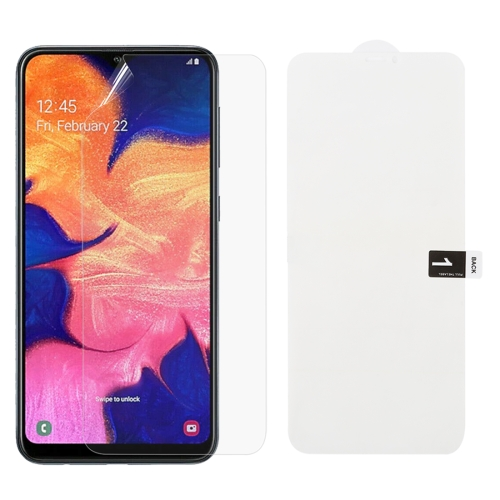 Soft Hydrogel Film Full Cover Front Protector for Galaxy A10