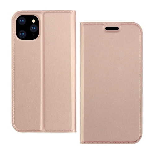 DZGOGO ISKIN Series Slight Frosted PU+ TPU Case For iPhone 11 Pro(Rose Gold)