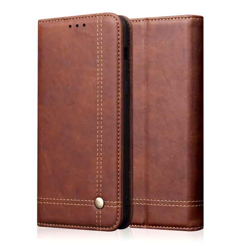 Casual Style Retro Crazy Horse Texture Horizontal Flip Leather Case with Card Slots & Holder & Wallet for iPhone 11 Pro Max(Dark Brown)