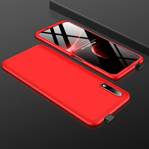 GKK Three Stage Splicing Full Coverage PC Case For Huawei Honor 9X(Red)