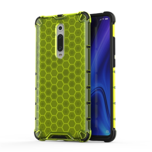 For Xiaomi Redmi K20 / K20 Pro / Mi 9T Shockproof Honeycomb PC + TPU Protective Case(Green)