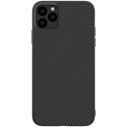 For iPhone 11 Pro NILLKIN Anti-slip Texture PC Protective Case(Black)