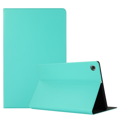 For Lenovo M10 Plus Voltage Craft Texture TPU Horizontal Flip Protective Case with Holder(Mint Green)  - buy with discount