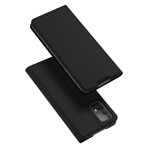 For Samsung Galaxy A52 5G DUX DUCIS Skin Pro Series Horizontal Flip PU + TPU Leather Case, with Holder & Card Slots(Black)  - buy with discount