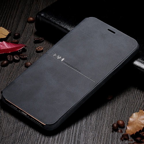 For iPhone 11 X-level Extreme Series Horizontal Flip TPU + PU Leather Case with Holder(Black) фото