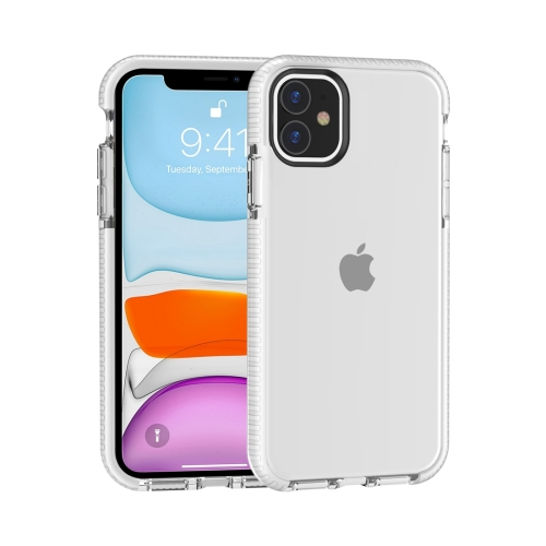 For iPhone 11 Highly Transparent Soft TPU Case(White)