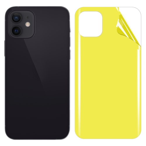 Soft TPU Full Coverage Rear Screen Protector For iPhone 12  - buy with discount