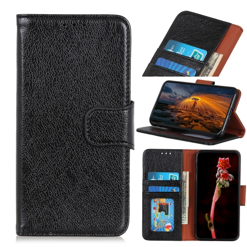 For Samsung Galaxy A02 Nappa Texture Horizontal Flip Leather Case with Holder & Card Slots & Wallet(Black)  - buy with discount