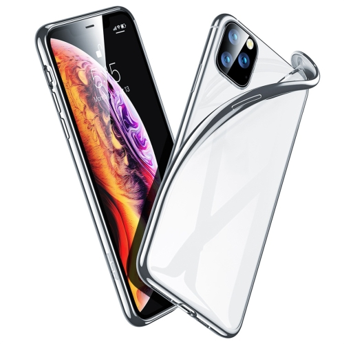 For iPhone 11 Pro ESR Essential Crown Serie Ultra Thin Soft TPU Protective Case(Silver) фото