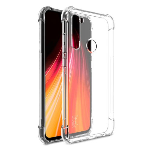For Xiaomi Redmi Note 8 Four Corners Anti-Fall All-Inclusive Shockproof Airbag TPU Protective Case(Transparent)