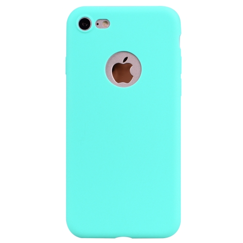 For iPhone 8 / 7 Candy Color TPU Case(Green)