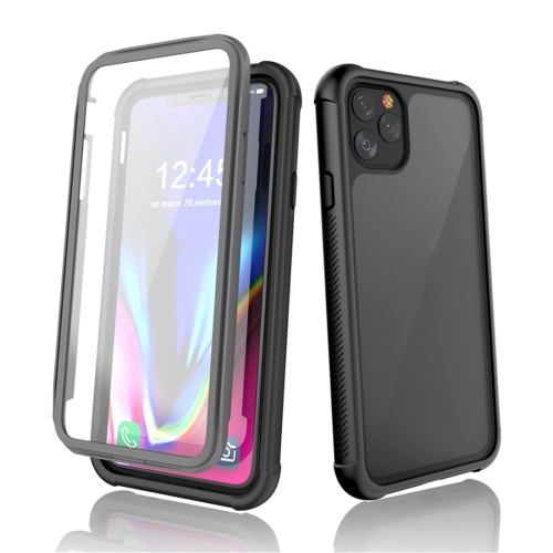 For iPhone 11 Pro Max RedPepper Shockproof Scratchproof Dust-proof PC + TPU Protective Case(Black) фото