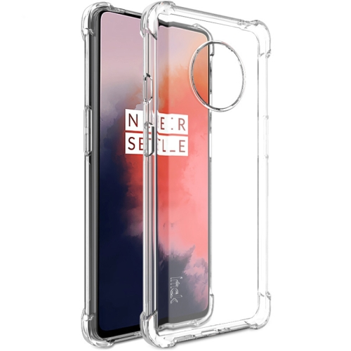 For OnePlus 7T IMAK All-inclusive Shockproof Airbag TPU Case (Transparent) фото