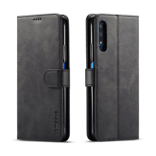 For Huawei Honor 9X / 9X Pro LC.IMEEKE Calf Texture Horizontal Flip Leather Case, with Holder & Card Slots & Wallet(Black) фото